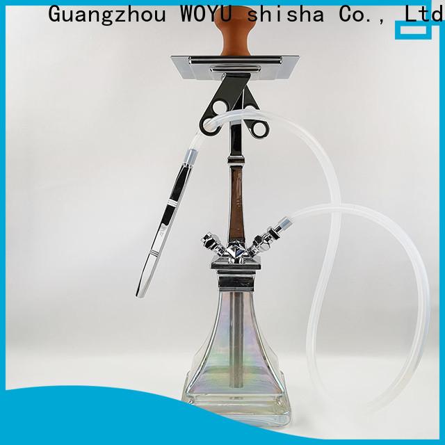 WOYU zinc alloy shisha factory for business