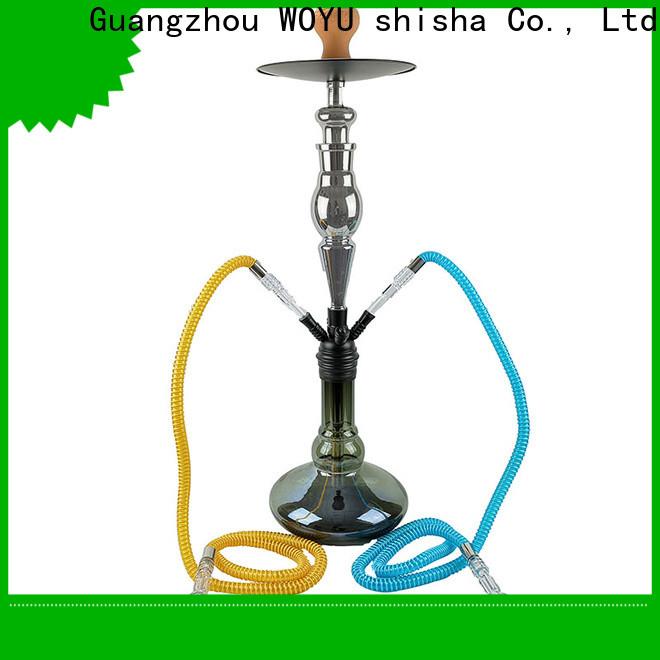 WOYU personalized zinc alloy shisha manufacturer for market