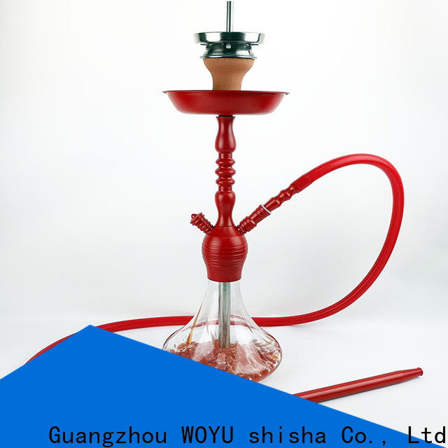 WOYU zinc alloy shisha factory for importer