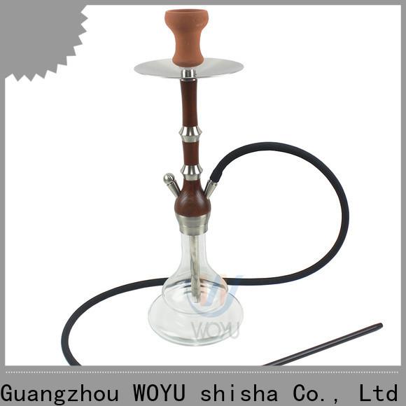 WOYU wooden shisha quick transaction for business