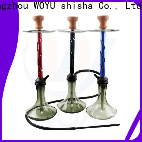 WOYU 100% quality aluminum shisha from China for market