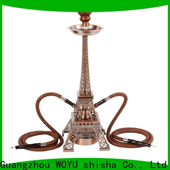 WOYU personalized iron shisha trader