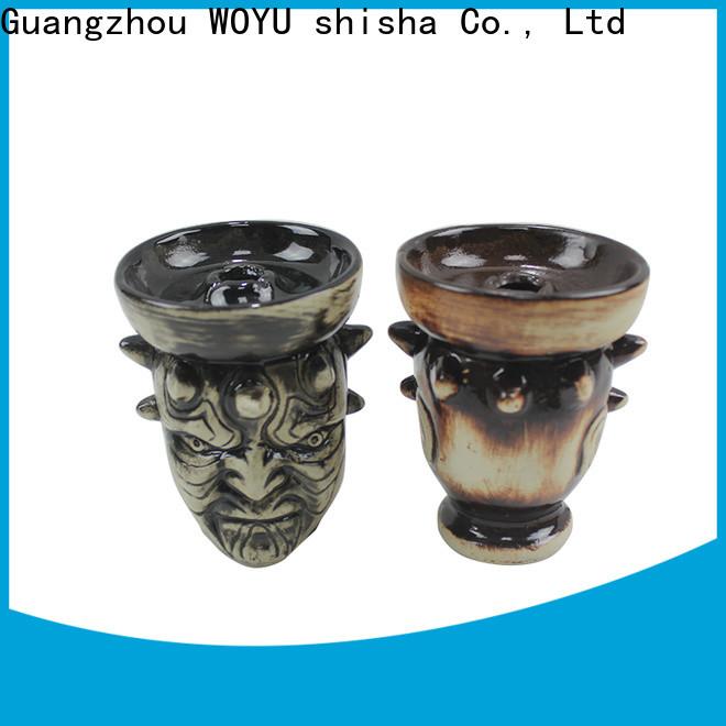 WOYU durable shisha bowl design for trader