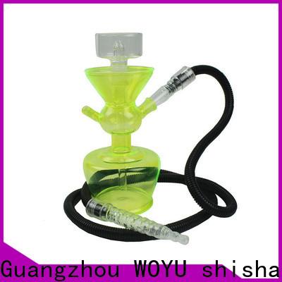 WOYU personalized glass shisha supplier for market