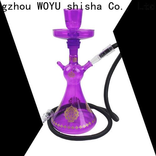 WOYU glass shisha manufacturer for b2b