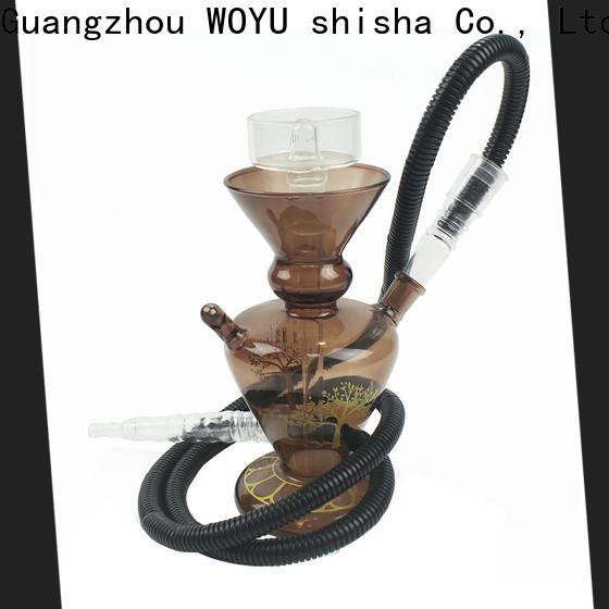 WOYU traditional glass shisha factory for trader