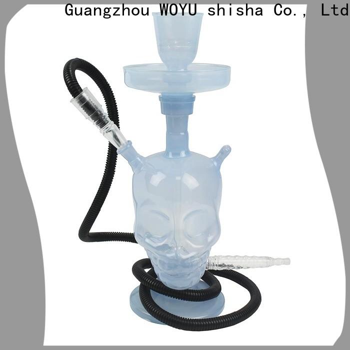 WOYU personalized glass shisha brand for b2b