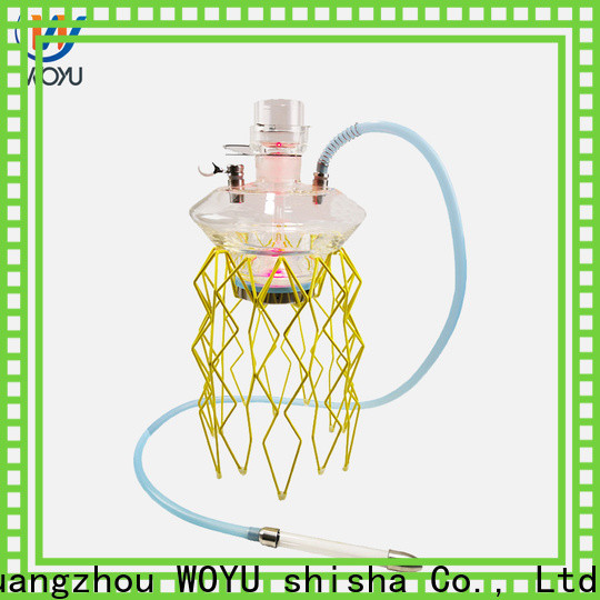 WOYU professional stainless steel shisha supplier for trader