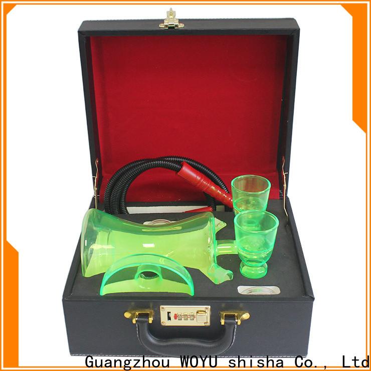 WOYU best-selling glass shisha supplier for market