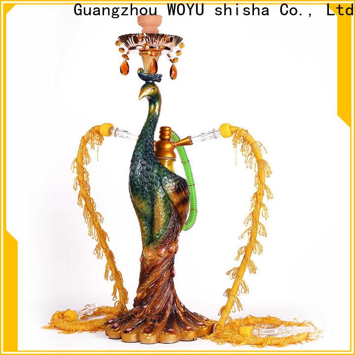 WOYU personalized resin shisha brand for b2b