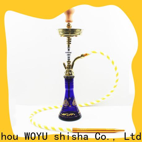 WOYU personalized zinc alloy shisha manufacturer for b2b