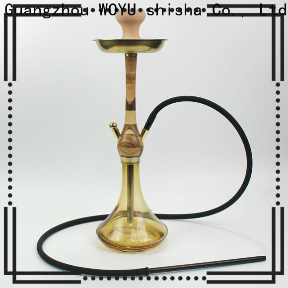 WOYU portable wooden shisha customization for trader