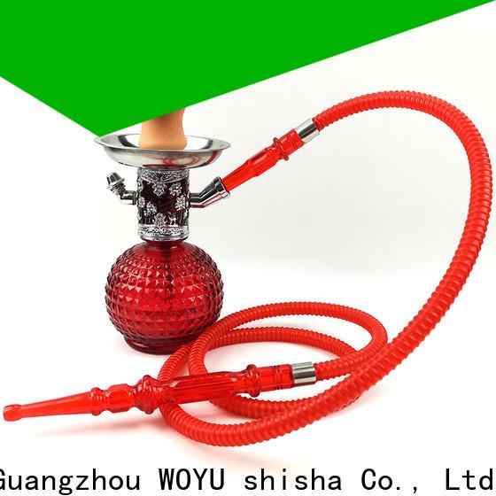 WOYU 100% quality zinc alloy shisha factory for b2b