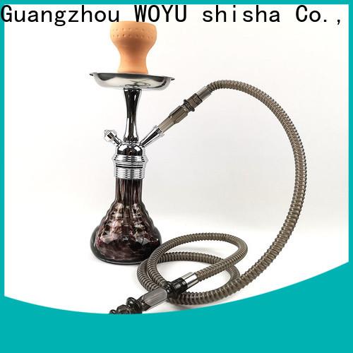 WOYU zinc alloy shisha manufacturer for market