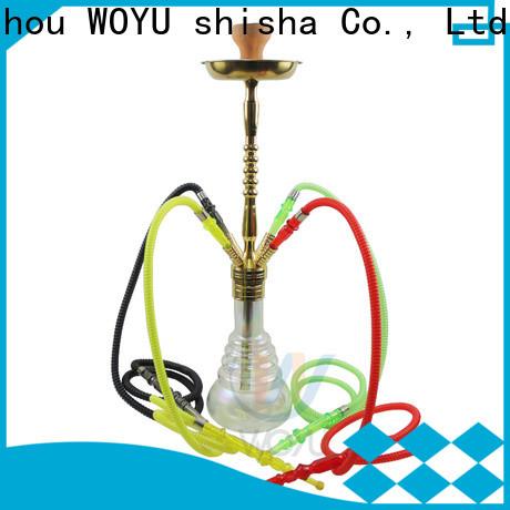 WOYU zinc alloy shisha manufacturer for business