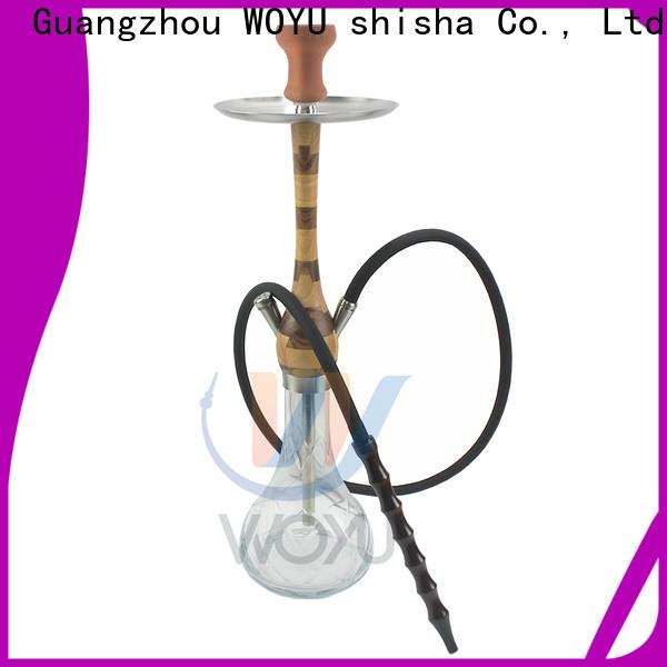 WOYU wooden shisha customization for trader
