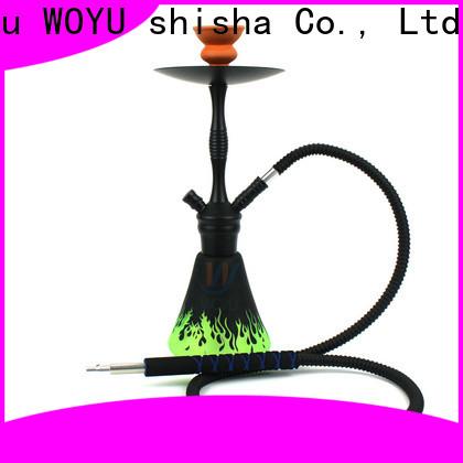 WOYU personalized aluminum shisha from China for trader