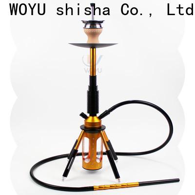 WOYU aluminum shisha one-stop services for importer