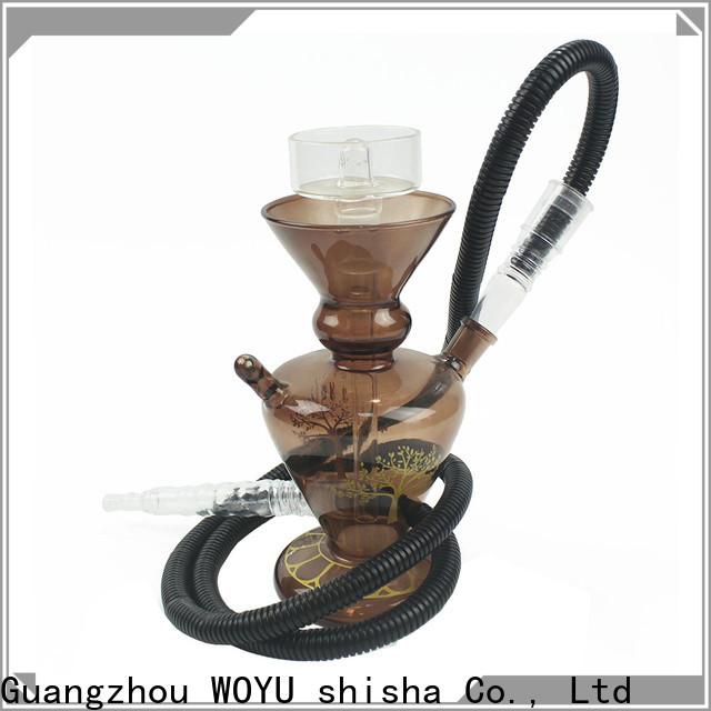 WOYU glass shisha brand for importer