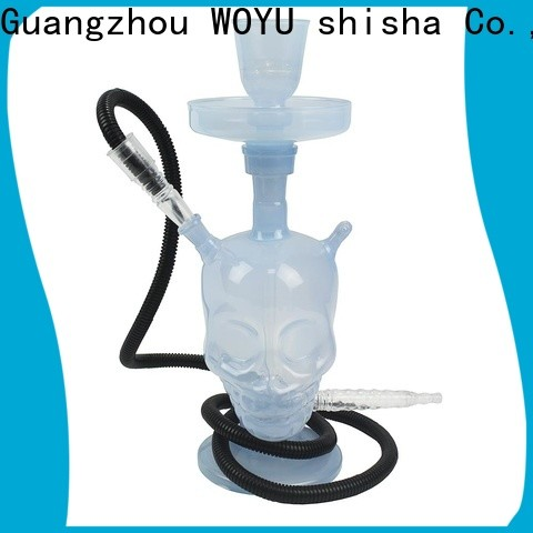 WOYU best-selling glass shisha brand for b2b