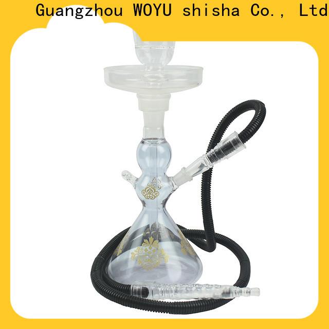WOYU glass shisha manufacturer for market