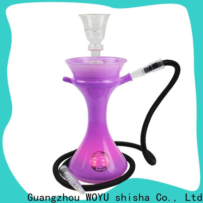 WOYU glass shisha supplier for importer