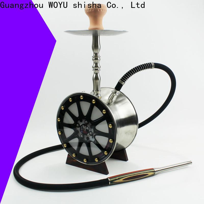 WOYU stainless steel shisha factory for importer