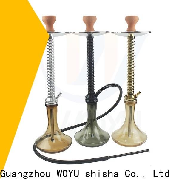 WOYU inexpensive aluminum shisha from China for importer