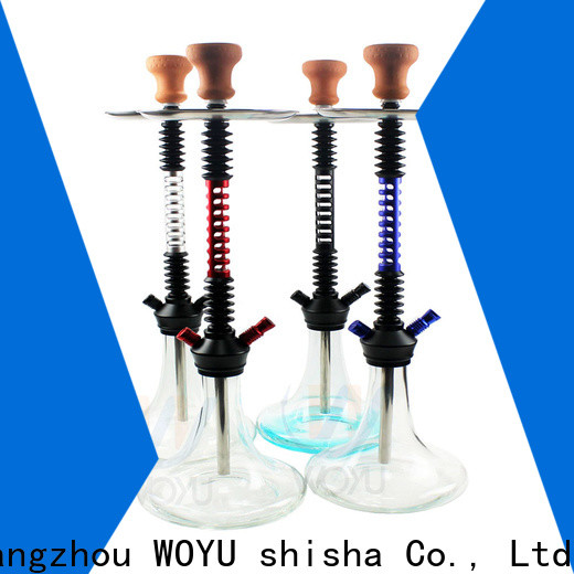 WOYU 100% quality aluminum shisha one-stop services for business