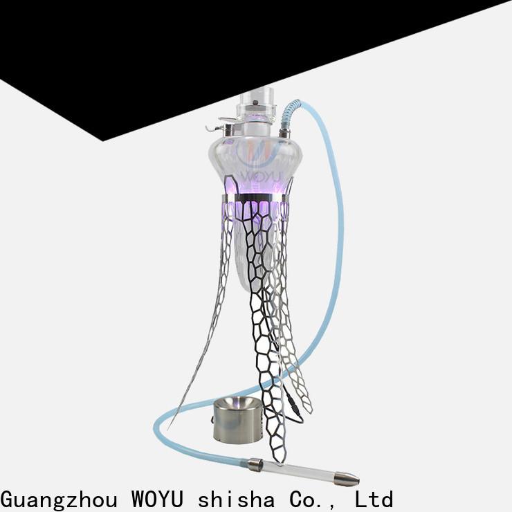 WOYU professional stainless steel shisha factory for market