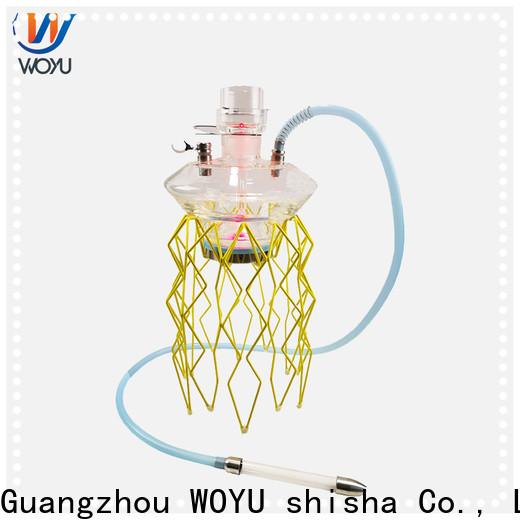 WOYU inexpensive stainless steel shisha manufacturer for trader