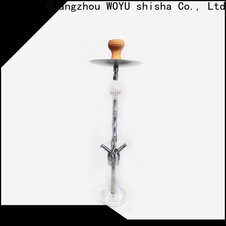 WOYU professional stainless steel shisha manufacturer for trader