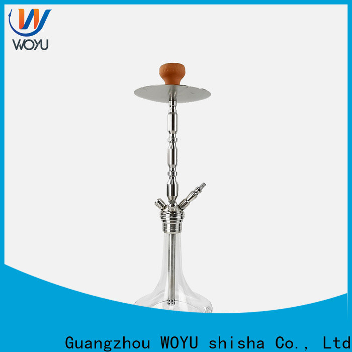 WOYU traditional stainless steel shisha manufacturer for trader