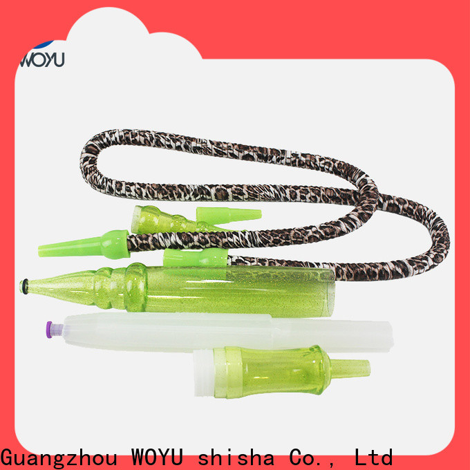 WOYU hookah hose fast shipping for business