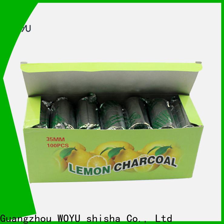 WOYU hookah charcoal factory for business
