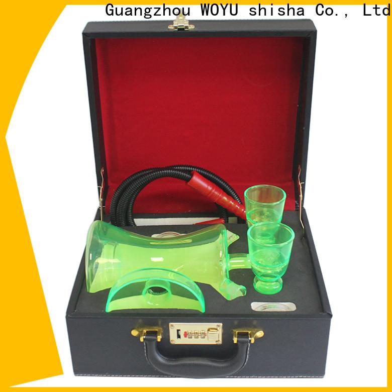WOYU traditional glass shisha supplier for business