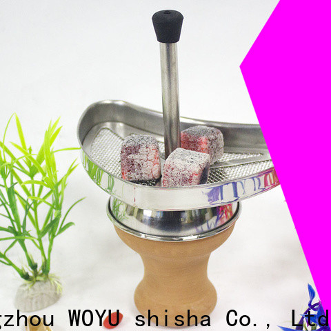 WOYU charcoal holder factory for trader