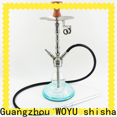 WOYU personalized stainless steel shisha factory for importer