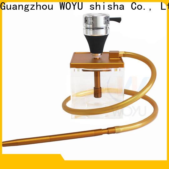 WOYU acrylic shisha wholesale for market