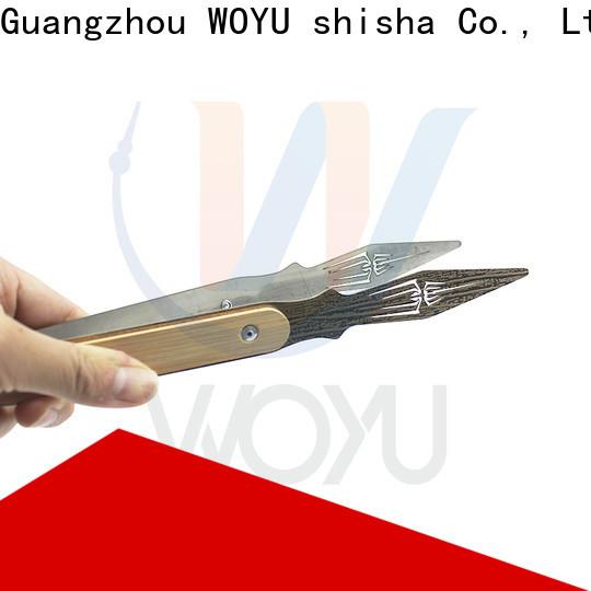 WOYU personalized shisha tong manufacturer for importer