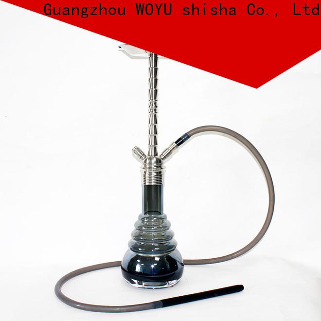 WOYU stainless steel shisha supplier for trader