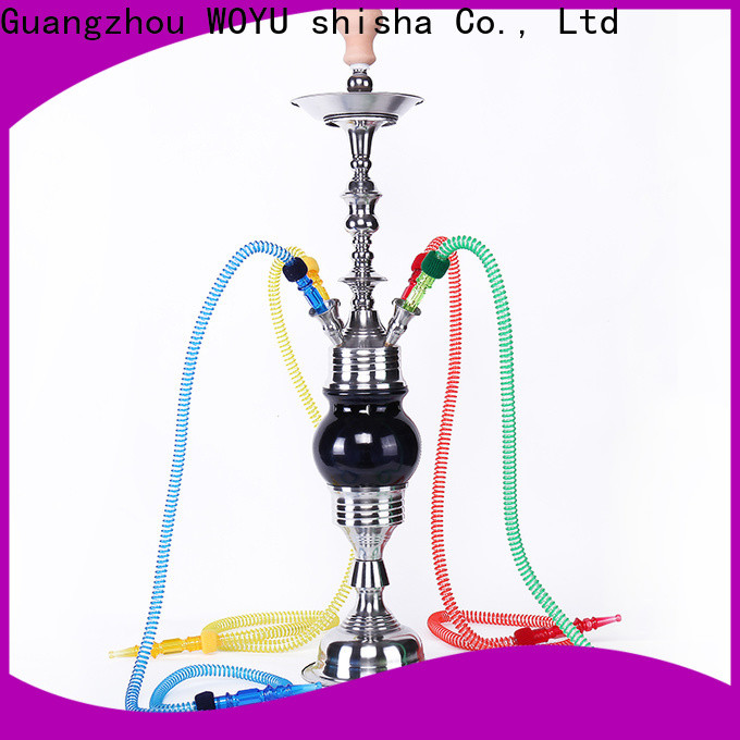 WOYU professional stainless steel shisha supplier for business
