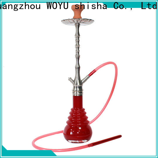 WOYU stainless steel shisha supplier for business