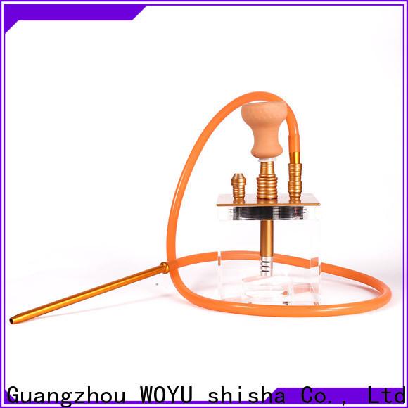 WOYU acrylic shisha wholesale for importer