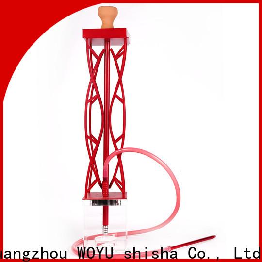 WOYU buy cheap acrylic shisha from China for business