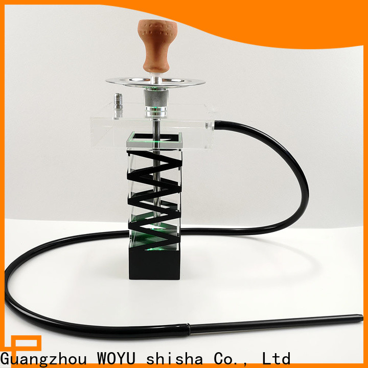 WOYU acrylic shisha from China for business