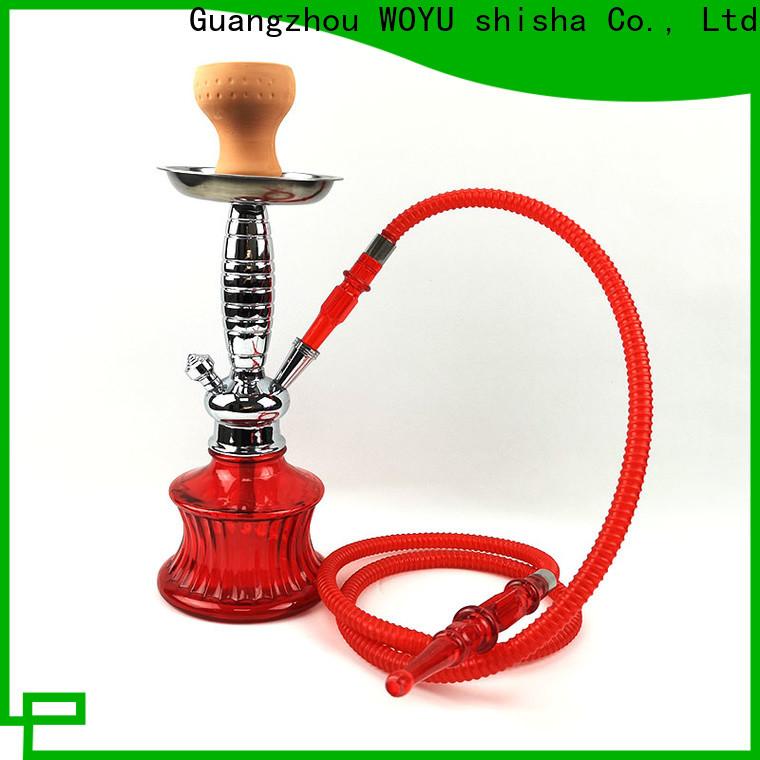 WOYU best-selling zinc alloy shisha manufacturer for market