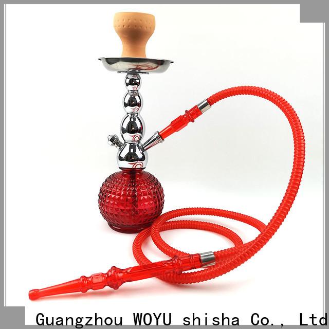 WOYU best-selling zinc alloy shisha manufacturer for b2b