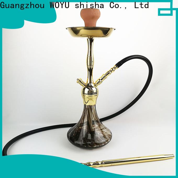 WOYU 100% quality zinc alloy shisha manufacturer for business