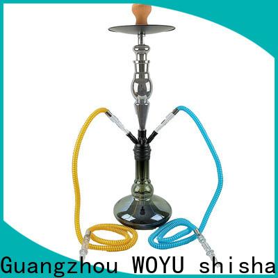 WOYU 100% quality zinc alloy shisha factory for importer